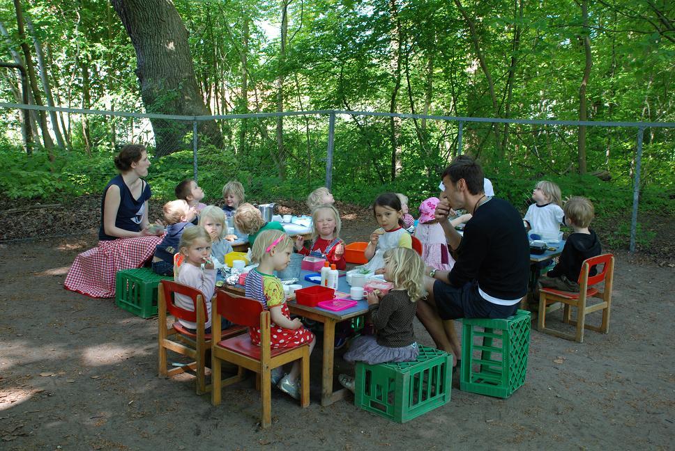 Frokost i det grønne